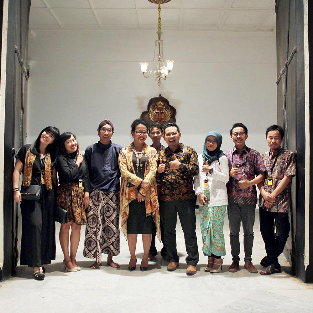Kotakmedia Indonesia Di Acara Launching Website Kraton Jogja