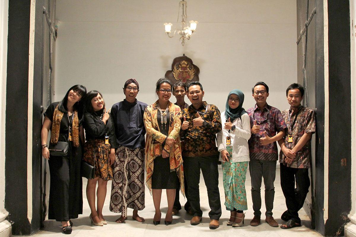 Kotakmedia Indonesia di Acara Launching Web Kraton Jogja