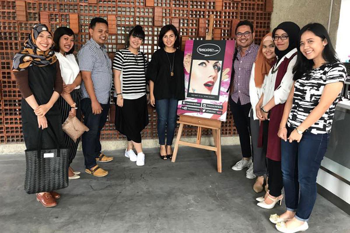Kunjungan Kerja Kotakmedia Indonesia ke Female Daily Network