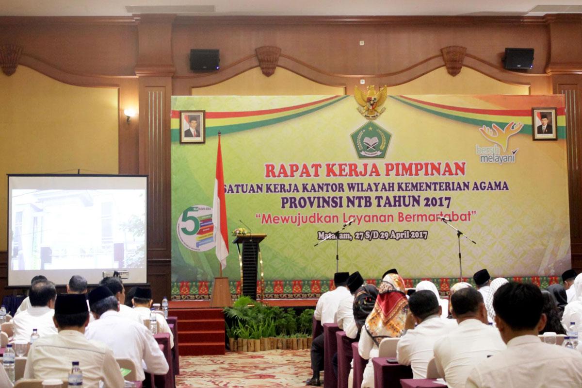 Kotakmedia Indonesia di Acara Launching Web Kemenag NTB