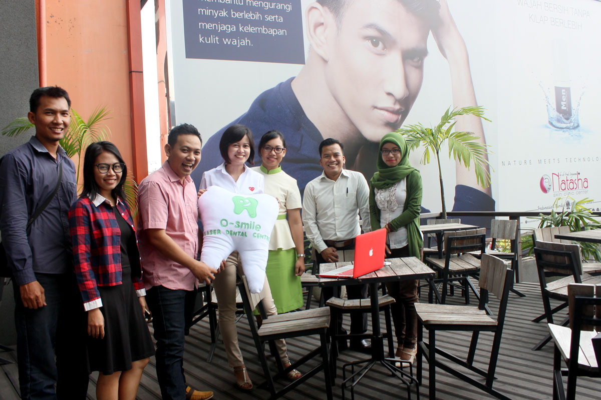 Launching Mobile Apps O-smile Laser Dental bersama Kotakmedia