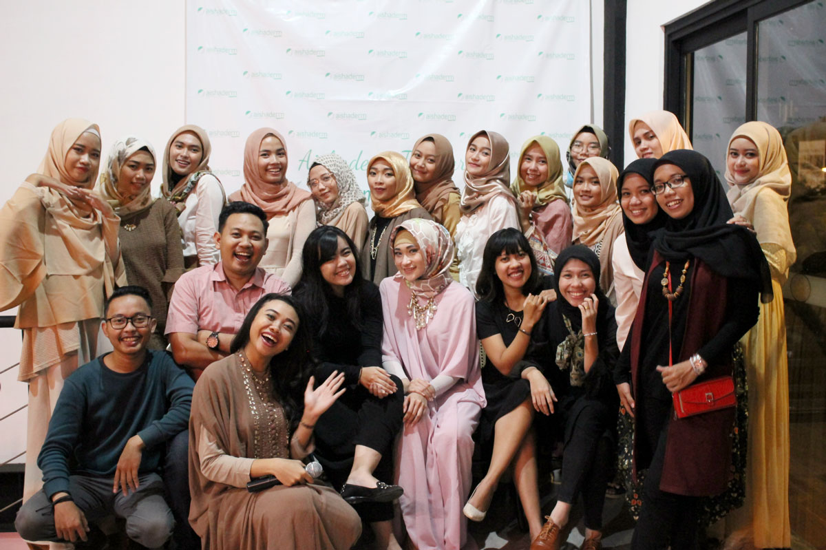 Kotakmedia Indonesia dalam Event Beauty Blogger Gathering Aishaderm