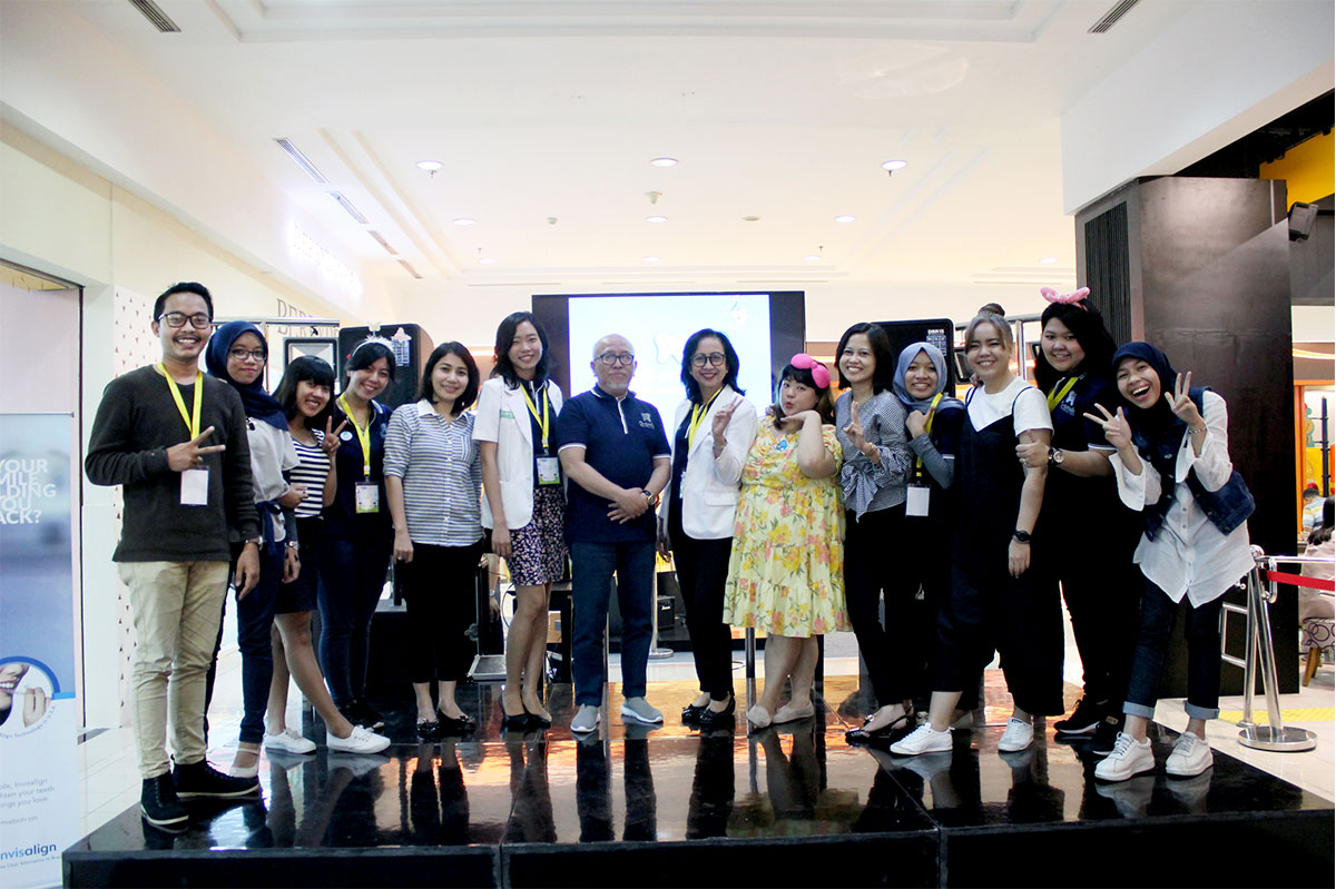 Kotakmedia Indonesia dalam Event O-smile Competition